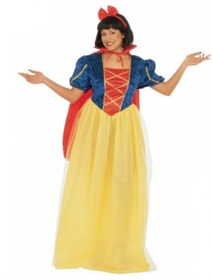 Plus Size Fairytale Snow White Costume (3165)